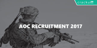 AOC recruitment 2017