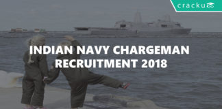 Indian Navy chargeman recruitment 2018