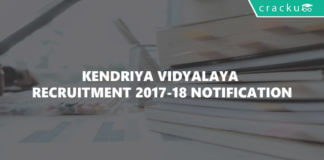 KVS Recruitment 2018