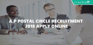 A.P Postal Circle Recruitment 2018 Apply Online-01