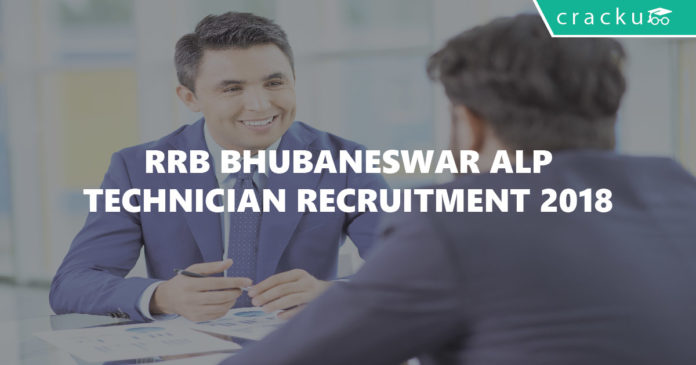 RRB Bhubaneswar ALP & Technician Recruitment 2018-01