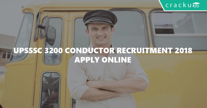 UPSSSC 3200 Conductor Recruitment 2018-Apply Online-01