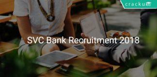 SVC Cooperative bank recruitment