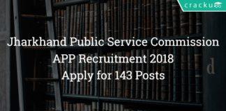 JharkhandPSC Assistant Public Prosecutor Recruitment 2018- Apply 143 Posts