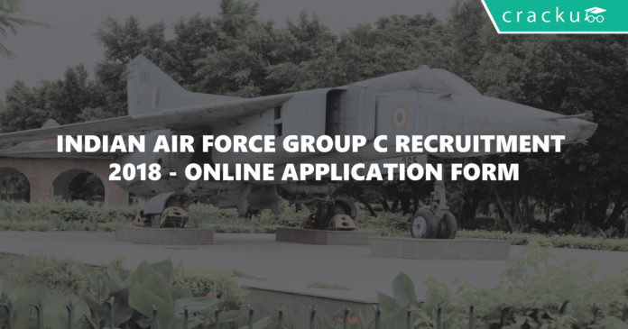 indian air force group c recruitment 2018 - online application form