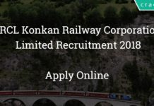 krcl konkan railway corporation limited recruitment 2018