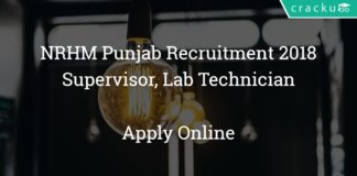 nrhm punjab recruitment 2018