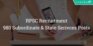 RPSC Recruitment 2018 Apply online