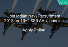 join indian navy recruitment 2018 for 10+2 SSR AA vacancies - Apply online (edited)