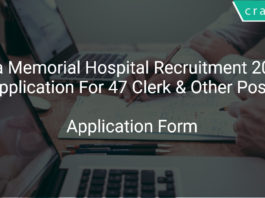 Tata Memorial Hospital Recruitment 2018 Apply offline Application For 47 Clerk & Other Posts