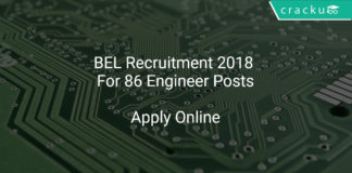 [:en]BEL Recruitment 2018 Apply Online For 86 Engineer Posts[:]