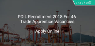PDIL Recruitment 2018 Apply Online For 46 Trade Apprentice Vacancies