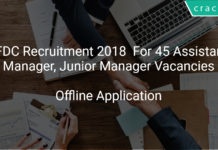 OFDC Recruitment 2018 Apply Offline For 45 Assistant Manager, Junior Manager Vacancies