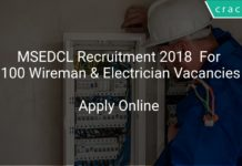 MSEDCL Recruitment 2018 Apply Online For 100 Wireman & Electrician Vacancies