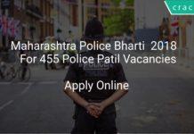 Maharashtra Police Bharti 2018 Apply Online For 455 Police Patil Vacancies