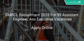 BMRCL Recruitment 2018 Apply Online For 99 Assistant Engineer, Ass Executive Vacancies