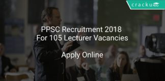 PPSC Recruitment 2018 Apply Online For 105 Lecturer Vacancies