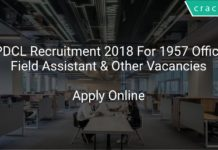 APDCL Recruitment 2018 Apply Online For 1957 Office & Field Assistant & Other Vacancies