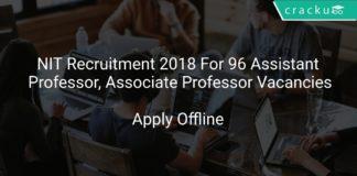NIT HAMIRPUR Faculty Recruitment 2018 Apply Online For 96 Apprentice Vacancies