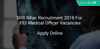 SHS Bihar Recruitment 2018 Apply Online For 133 Medical Officer Vacancies