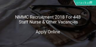 NMMC Recruitment 2018 Apply Online For 448 Staff Nurse & Other Vacancies