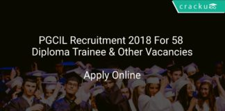 PGCIL Recruitment 2018 Apply Online For 58 Diploma Trainee & Other Vacancies