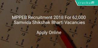 MPPEB Recruitment 2018 Apply Online For 62,000 Samvida Shikshak Bharti Vacancies