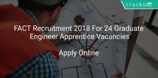 FACT Recruitment 2018 Apply Online For 24 Graduate Engineer Apprentice Vacancies