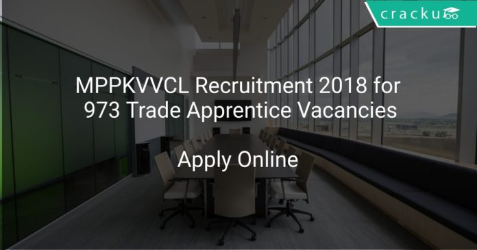 MPPKVVCL Recruitment 2018 Apply Online for 973 Trade Apprentice Vacancies