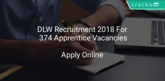 DLW Recruitment 2018 Apply Online For 374 Apprentice Vacancies