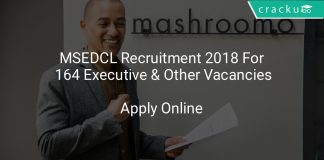MSEDCL Recruitment 2018 Apply Online For 164 Executive & Other Vacancies