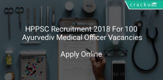 HPPSC Recruitment 2018 Apply Online For 100 Ayurvediv Medical Officer Vacancies