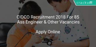CIDCO Recruitment 2018 Apply Online For 85 Assistant Engineer & Other Vacancies