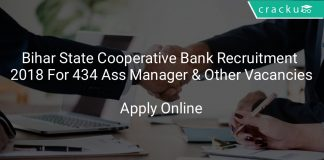 Bihar State Cooperative Bank Recruitment 2018 Apply Online For Assistant Manager & Other Vacancies