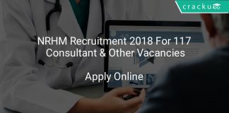 NRHM Recruitment 2018 Apply Online For 117 Consultant & Other Vacancies