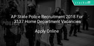 AP State Police Recruitment 2018 Apply Online For 3137 Home Department Vacancies