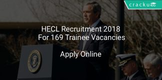 HECL Recruitment 2018 Apply Online For 169 Trainee Vacancies