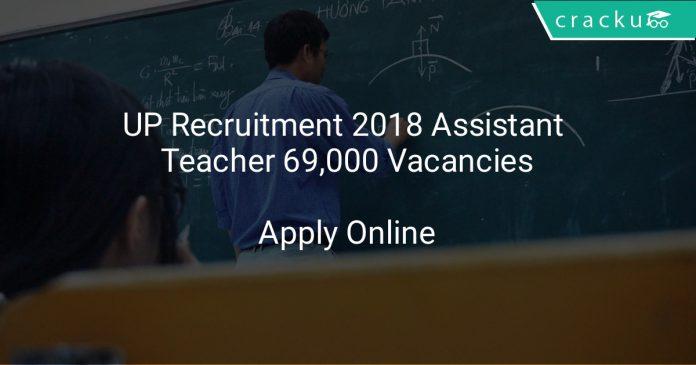 UP Recruitment 2018 Assistant Teacher 69,000 Vacancies