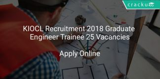 KIOCL Recruitment 2018 Graduate Engineer Trainee 25 Vacancies