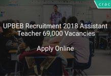 UPBEB Recruitment 2018 Assistant Teacher 69,000 Vacancies