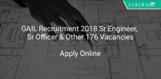 GAIL Recruitment 2018 Sr Engineer, Sr Officer & Other 176 Vacancies