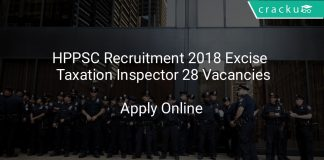 HPPSC Recruitment 2018 Excise & Taxation Inspector 28 Vacancies