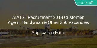 AIATSL Recruitment 2018 Customer Agent, Handyman & Other 250 Vacancies