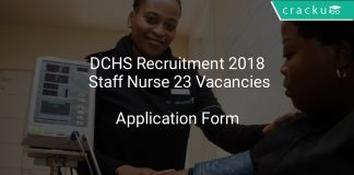 DCHS Recruitment 2018 Staff Nurse 23 Vacancies