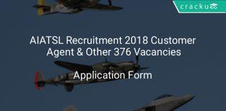 AIATSL Recruitment 2018 Customer Agent & Other 376 Vacancies