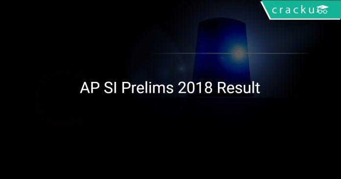 AP Prelims Result 2018
