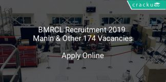BMRCL Recruitment 2019 Manintainers & Other 174 Vacancies