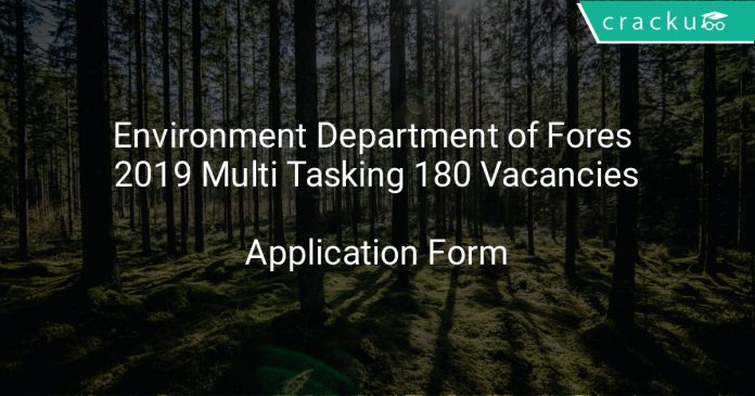 Environment Department of Forest Recruitment 2019 Law Officer 13 Vacancies