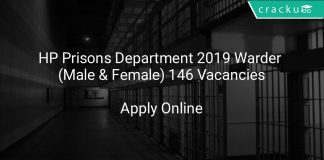 HP Prisons Department 2019 Warder (Male & Female) 146 Vacancies