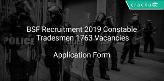BSF Recruitment 2019 Constable Tradesmen 1763 Vacancies